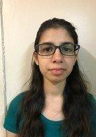 A photo of Aisha, a tutor from Barnard College
