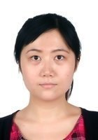 A photo of Xiaoyan, a tutor from Central China Normal University