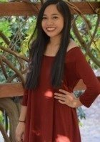 A photo of Justine, a tutor from Chapman University