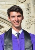 A photo of Miles, a tutor from Northwestern University