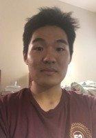 A photo of Jinpyo, a tutor from Arizona State University