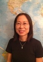 A photo of Yoshiko, a tutor from Rikkyo University