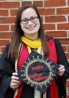 A photo of Katie, a tutor from University of Maryland-College Park