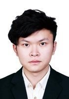 A photo of Jiawei, a tutor from Beijing Forestry University
