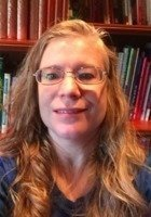 A photo of Susan, a tutor from SUNY at Geneseo