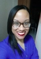 A photo of Adrena, a tutor from CUNY Queens College