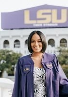 A photo of Briana, a tutor from Louisiana State University and Agricultural & Mechanical College