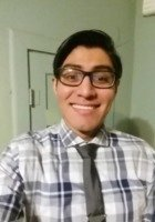 A photo of Julio, a tutor from The University of Texas at San Antonio