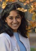 A photo of Rashmi, a tutor from University of North Carolina at Chapel Hill
