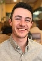 A photo of Elias, a tutor from Northwestern University