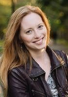 A photo of Amy, a tutor from Cornell University