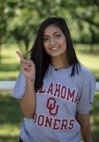 A photo of Hanita, a tutor from University of Oklahoma Norman Campus