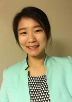 A photo of Julie, a tutor from Qingdao University