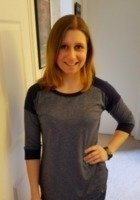 A photo of Kristen, a tutor from SUNY College at Oswego