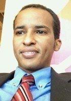 A photo of Abdirizak, a tutor from Emory University
