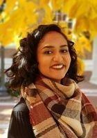 A photo of Naganavya, a tutor from Johns Hopkins University