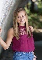 A photo of Madeline, a tutor from Northwestern University