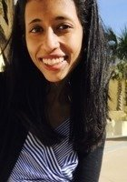 A photo of Swetha, a tutor from Mount Holyoke College