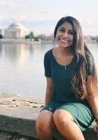 A photo of Subha, a tutor from George Washington University