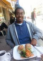 A photo of Tunde, a tutor from Columbia University in the City of New York