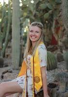 A photo of Haley, a tutor from Arizona State University