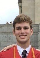 A photo of Jackson, a tutor from Washington and Lee University