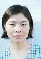 A photo of Wenfang, a tutor from Anhui Normal University China