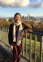 A photo of Sarah, a tutor from Northeastern University