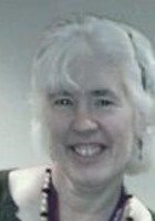 A photo of Mary Joan, a tutor from University of Notre Dame