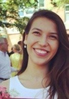 A photo of Isabella, a tutor from Boston University