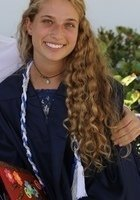 A photo of Sara, a tutor from Florida State University