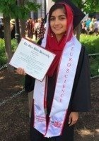 A photo of Amraha, a tutor from The Ohio State University