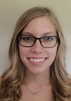A photo of Hannah, a tutor from Morehead State University