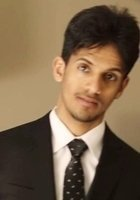 A photo of Ahmed, a tutor from Northeastern University