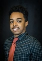 A photo of Natnael, a tutor from Montgomery College