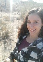 A photo of Amber, a tutor from Arizona State University