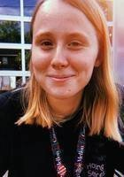 A photo of Sarah, a tutor from Carnegie Mellon University