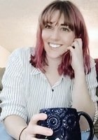 A photo of Abigail, a tutor from Waynesburg University
