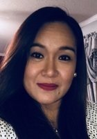 A photo of Sharon, a tutor from University of Santo Tomas Philippines