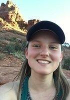A photo of Sophia, a tutor from University of Arizona