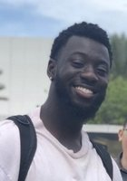 A photo of Kwame, a tutor from Florida International University