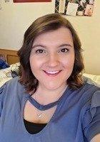 A photo of Shannara, a tutor from Utah State University