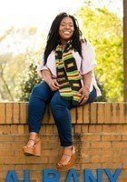 A photo of DeSeandra, a tutor from Albany State University
