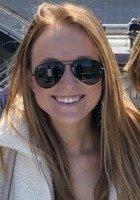 A photo of Molly, a tutor from Loyola University Maryland