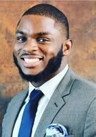 A photo of Calvin, a tutor from Jackson State University