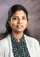A photo of Arathi Sharada, a tutor from Stella Maris College
