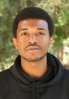 A photo of Jabril, a tutor from University of California-Los Angeles