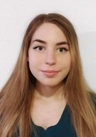 A photo of Sophia, a tutor from Gordon College