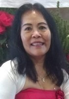 A photo of Zoraida, a tutor from University of the Philippines