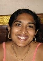 A photo of Neemisha, a tutor from The Evergreen State College
